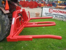 hay bale grabber attachment AGM Duo Balendrager