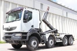 swap body truck Renault Kerax 450 8x4 E5 AHK Retarder Leasing 2007