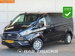 closed lcv Ford Transit Custom 2.0 TDCI 130PK L2H1 DC Limited Automaat Navigatie Camera ... 2020