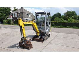 mini digger crawler Wacker Neuson 1703 2011