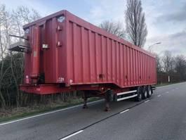 tipper semi trailer Kaiser Robuste Kaiser 3 asser  84m3 cubic 2011
