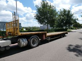 flatbed semi trailer Samro SD28WJ 2006