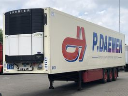 refrigerated semi trailer Schmitz Cargobull CARRIER VECTOR 1850 MT/ SAF DISC/ 2X LIFT-AS 2010