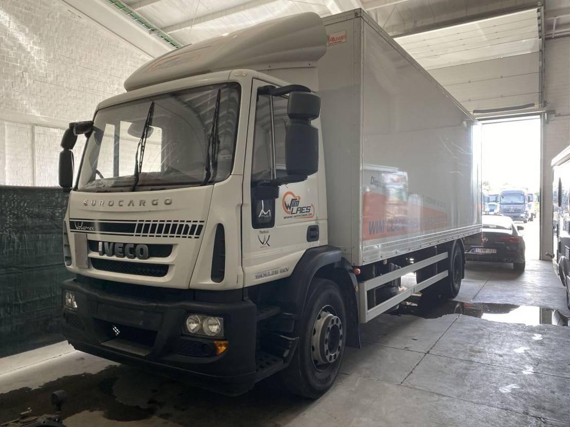 closed box truck > 7.5 t Iveco EUROCARGO 19EL28 EEV VERSNELLINGSBAKPROBLEEM 2014