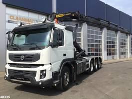 container truck Volvo FMX 450 8x4 Palfinger 33 ton/meter laadkraan 2012