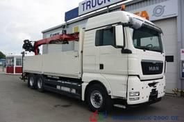 drop side truck MAN TGX 26.480 EEV 6x4 Fassi F185BS22 10.9 m=1.47 t 2013