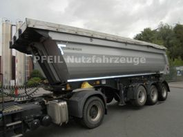 tipper semi trailer Meiller MHPS 12/27 Stahlmulde- BPW- LIFT- Trommelbremsen 2017