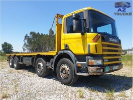 cab over engine Scania 124G-360 FULL STEEL MANUAL GEARBOX 3+3 2001
