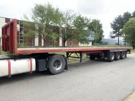 flatbed semi trailer Lag 3-AXLES BPW - DRUM BRAKES - 13m60 / 3-ESSIEUX BPW - TAMBOURS / 3-ACHSEN ... 1988