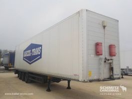closed box semi trailer Schmitz Cargobull Dryfreight Mega 2016