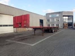 flatbed semi trailer Kel-Berg ÅBEN TRAILER 2002