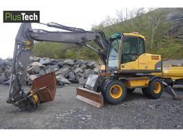 wheeled excavator Volvo EW 140C 2011