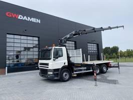 crane truck DAF CF 85.360 6x2  Hiab 288 EP-5 HiPro     Euro 5 2010