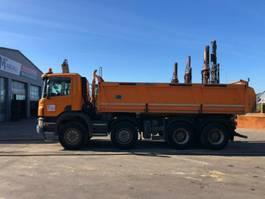tipper truck > 7.5 t Scania P440 - 8X4 ** BJ2013 *MEILLER-KIPPER/Bordmatic 2013