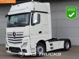 cab over engine Mercedes Benz Actros 1840 LS 4X2 ACC Retarder 2x Tanks GigaSpace Euro 6 2015