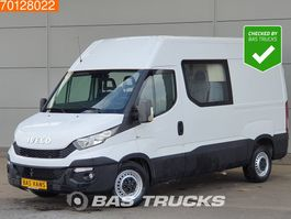closed lcv Iveco Daily 35S17 3.0 170PK Automaat Dubbel Cabine Airco Cruise Mixto Doka 7m3... 2016