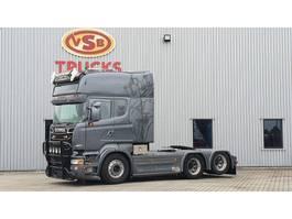 cab over engine Scania Scania R 560 Longline/ Boogie /PTO/ Special interior full air 6x2 2012