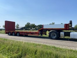 semi lowloader semi trailer Faymonville 3 axle powersteering , radiograph controle, extension 2016