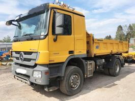 tipper truck > 7.5 t Mercedes Benz Actros 1855 AK 4x4 Actros 1855 AK 4x4, Retarder, V8, Bordmatik links 2013