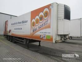 refrigerated semi trailer Schmitz Cargobull Vries Standard Dubbeldeks Hydr. laadklep 2012