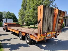 Tieflader Auflieger Masso Lowloader / Porte engins 32 ton 1980