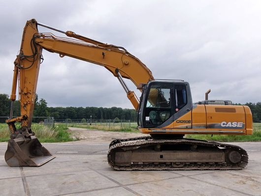 crawler excavator Case CX240B From first owner Dutch contractor 2011