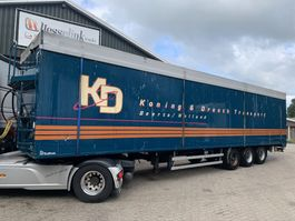 walking floor semi trailer Kraker Bulthuis TDWA 01 93m3 Cargo Floor APK/TUV 06/2021 2006