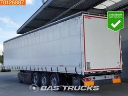 sliding curtain semi trailer Kögel SN24-1 Palettenkasten SAF Edscha 2017