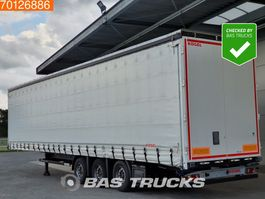sliding curtain semi trailer Kögel S24-1 Mega Hubdach Edscha SAF 2017