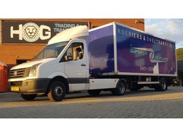 light duty tractor unit - lcv Volkswagen CRAFTER+ KUIPER BE TRAILER 2012