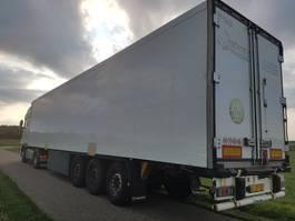 closed box semi trailer Krone SD 2011