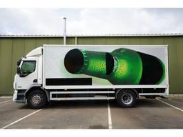 closed box truck > 7.5 t DAF LF 55.220 CLOSED BOX 209.000KM 2008