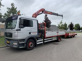 crane truck MAN TGM 15.290 4X2 BL EEV 2010