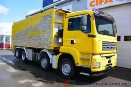 tank truck MAN TGA 35.430 8x4 30 m³ Spezial Pellets Kippaufbau 2006