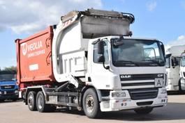 garbage truck DAF CF75.310 6x2 Euro5 Müll 24m³ Schalt Lenkachse 2007
