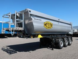 tipper semi trailer Meiller MHPS 12/27 NOSS1 25m³ Stahl/Stahl SAF Lift neu 2020