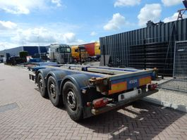 container chassis semi trailer Renders Euro 800 / 2x Extendable / Lift axle / All containers 2005