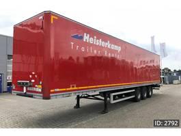 полуприцеп-закрытый короб Talson F1227 / Garment trailer / MOT Dec '20 2010