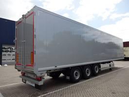 walking floor semi trailer Knapen Trailers K100 - 92m3 Silver Metallic *NEW*