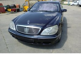 sedan car Mercedes-Benz S 400 L CDI Lang ALLE EXTRAS!!! 2001
