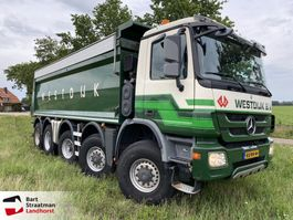 tipper truck > 7.5 t Mercedes-Benz ACTROS 5046 AK MP3 10x8 kipper 2010