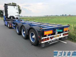 container chassis semi trailer Broshuis 3 UCC-39/45 EU - Multi - cont chassis 2003