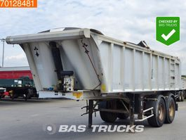 tipper semi trailer Benalu 22m3 Alu Kipper Steelsuspension 2005