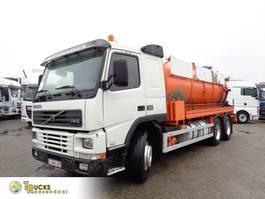vacuum truck Volvo FM 10.320 + Manual + VACUUM + 6X4 + BLAD-BLAD-BLAD + PTO 2000