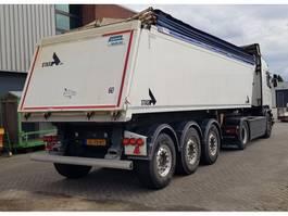 tipper semi trailer Stas 27m3 OP-V SUPER MOOI!!! 2012