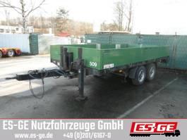 flatbed full trailer Schmidt Ballast-Tandemanhänger