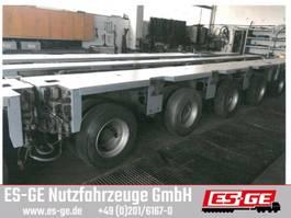 lowloader semi trailer Goldhofer 4-Achs-Fahrwerk 4x12 t THP-UT