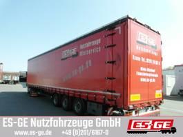 sliding curtain semi trailer Kögel 3-Achs-Sattelanhänger, Schiebeplane 2017