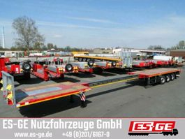flatbed semi trailer Faymonville 3-Achs-Teleauflieger - hydr. gelenkt 2019