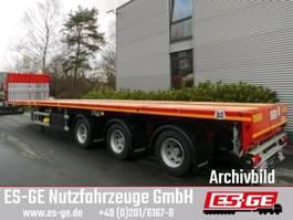 flatbed semi trailer Faymonville 3-Achs-Sattelauflieger - 2-fach teleskopierbar 2019